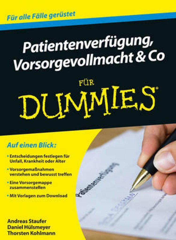 Buch: Patientenverfügung, Vorsorgevollmacht und Co für Dummies